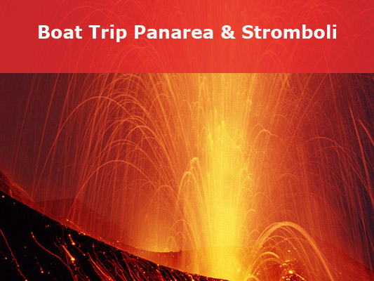Boat tours to Panarea